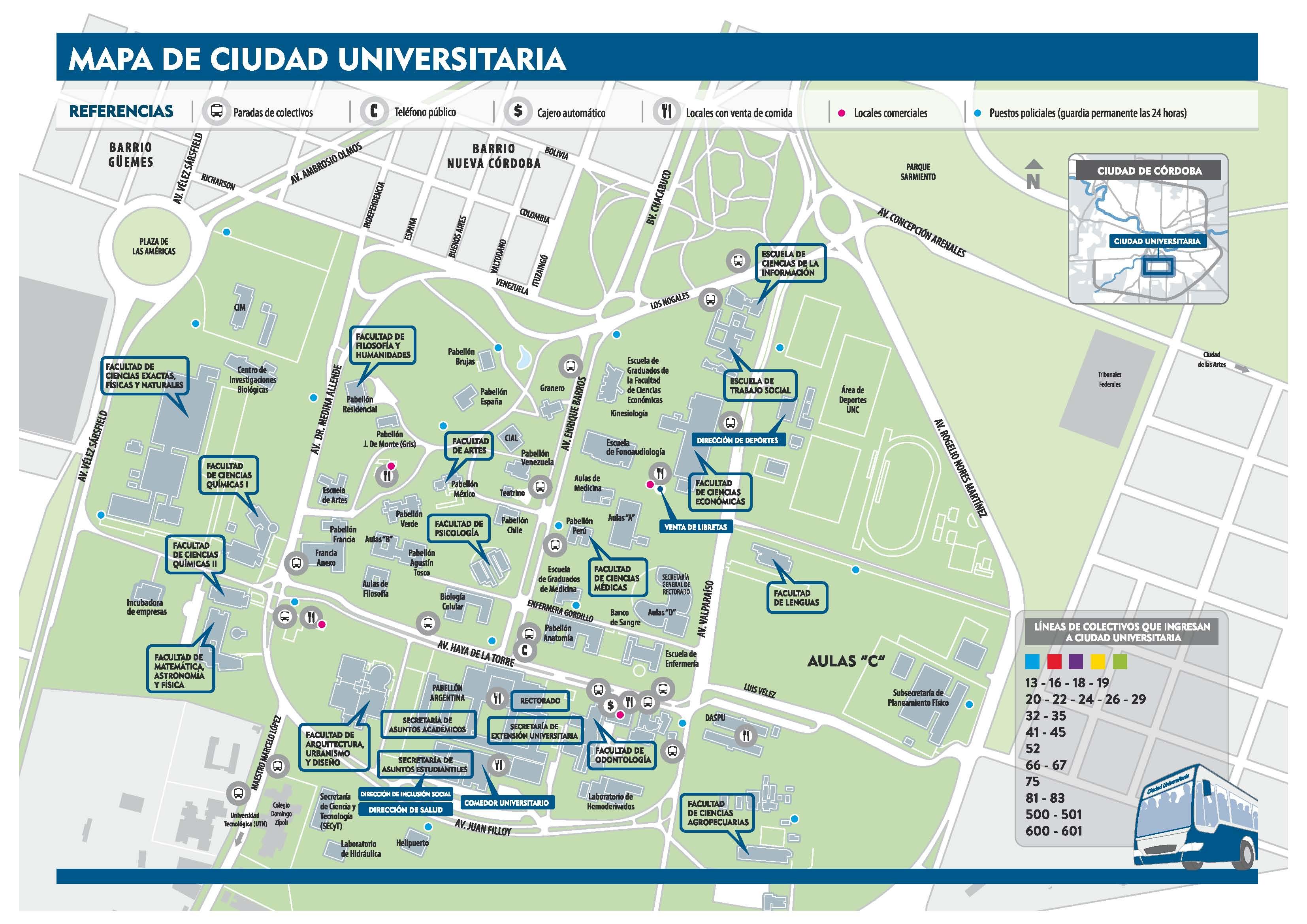 mapa artes