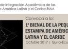 Convocatoria: Primera Bienal de la Pequeña Estampa